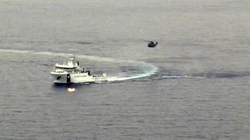 Naufrágio no Mar Mediterrâneo pode ter matado 700 pessoas - Guarda Costeira italiana/Reuters