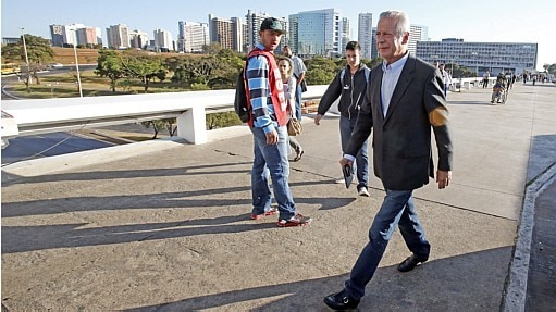 José Dirceu em Brasília - André Dusek/Estadão