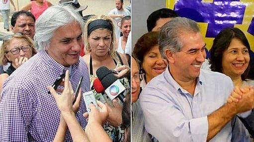 Candidatos no dia da votação do primeiro turno - Montagem Estadão
