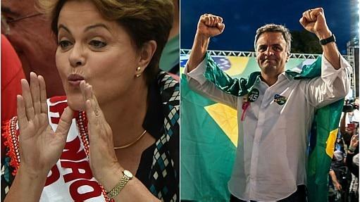 Candidatos em campanha - Montagem Estadão