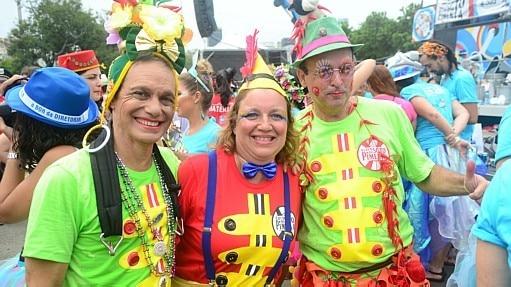 Organizadores esperavam cerca de 100 mil pessoas no desfile - Jorge Hely/Brazil PhotoPress