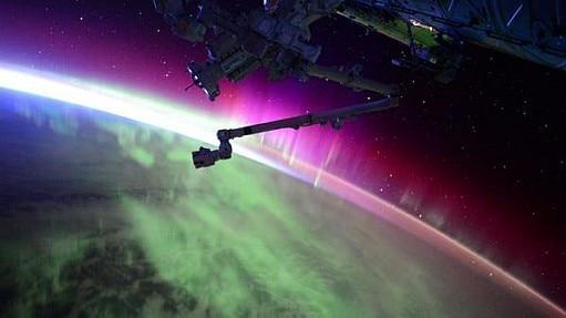 Chuva de meteoros Perseidas é vista em países do Hemisfério NorteAstronauta de estação espacial posta vídeo de aurora boreal; assista - Scott Kelly/Twitter