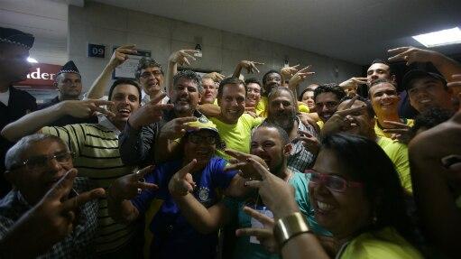 Dos 6.216 votos, Doria teve 2.681 (43,13%), Matarazzo teve 2.045 (22,31%) e Trípoli 1387 (32,89%) - Gabriela Biló/ Estadão