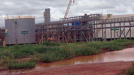 Obras da Unidade de Fertilizantes Nitrogenados III, em Três Lagoas, foram suspensas em dezembro - Estadão