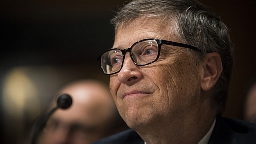 Bill Gates é o homem mais rico do mundo e abandonou a faculdade - Gabriella Demczuk/The New York Times