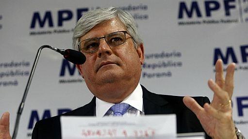O procurador-geral da República, Rodrigo Janot - Estadão