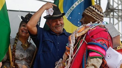 Lula participa de festa boliviana em SP - Gabriela Biló/Estadão