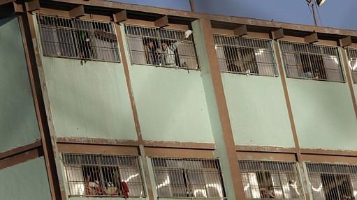 Rebelião em presídio mexicano - Daniel Becerril / Reuters