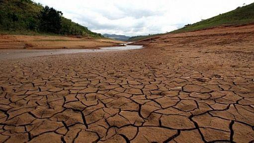 Represa Cachoeira, em Piracaia, no interior de São Paulo, uma das que compõem o Sistema Cantareira - Werther Santana/Estadão