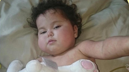 Após um ano internada, bebê Sofia deixa hospital nos Estados Unidos - Reprodução