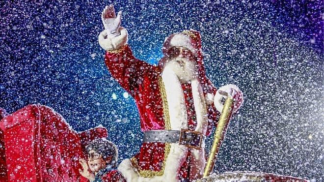 Em Gramado,Papai Noel já trabalha no Natal Luz