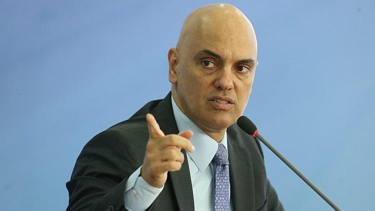 O atual ministro da Justiça, Alexandre de Moraes, indicado ao STF