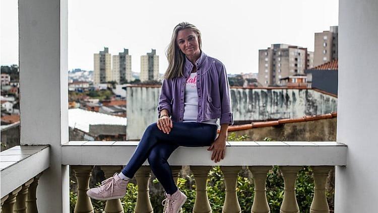 Mudança. Gisele chegou a ficar sem caminhar e precisou voltar a morar com os pais Foto: Rafael Arbex/Estadão