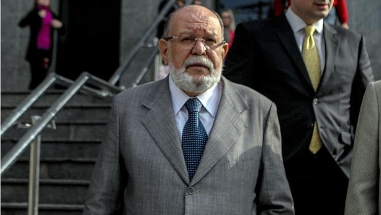 O ex-presidente da OAS Léo Pinheiro na sede da PF em São Paulo, em 2015 - Foto: Rafael Arbex/Estadão
