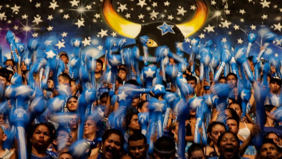 - Festival de Parintins que é realizado anualmente no último fnal de semana de junho, na cidade de Parintins, no Amazonas. Foto: Fernando Bizerra Jr. /  EFE