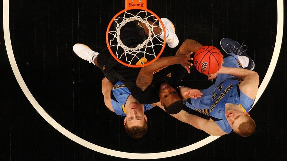 - Lance da partida entre o Arizona State Sun Devils e Marquette Golden Eagles, no Barclays Center, em New York. Foto: Mike Stobe / Getty Images / AFP