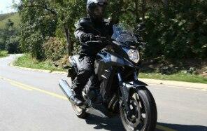 Honda CB 500X tem capacidade off-road - Honda/Divulgação