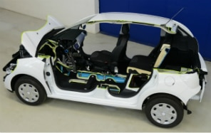 Peugeot cria híbrido movido a ar