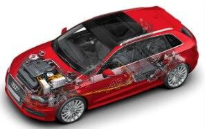 A3 e-tron será o primeiro híbrido plug-in da Audi - Audi/Divulgação