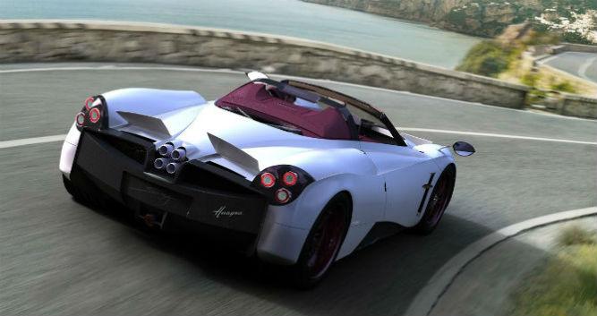 Huayra terá versão roadster em 2016 - Divulgação