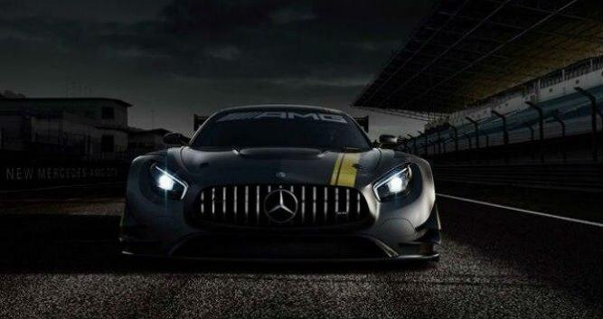 Mercedes-AMG mostra teaser do GT3 - Mercedes/Divulgação