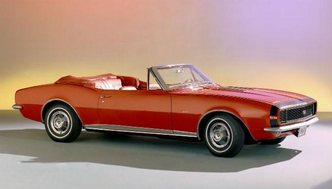 Primeiro Chevrolet Camaro