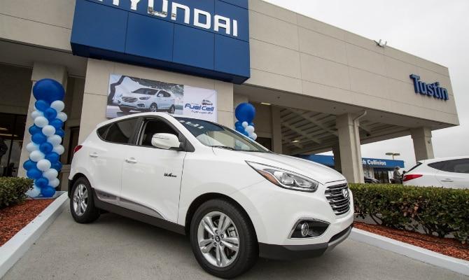 Hyundai entrega o primeiro Tucson movido a hidrogênio