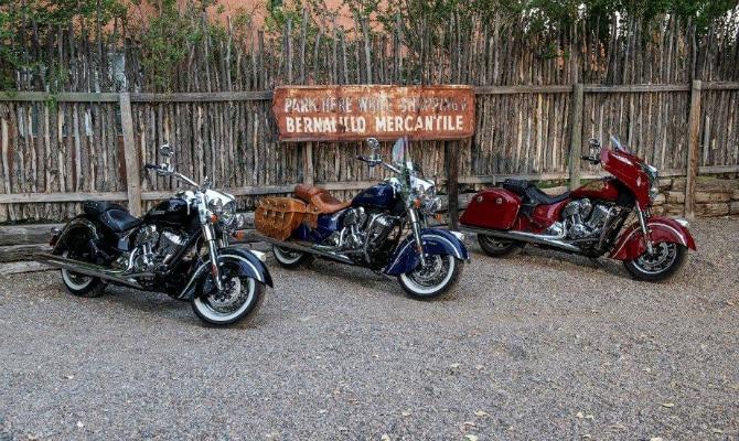 Linha de motocicletas custom chega em 2015 - Indian/Divulgação
