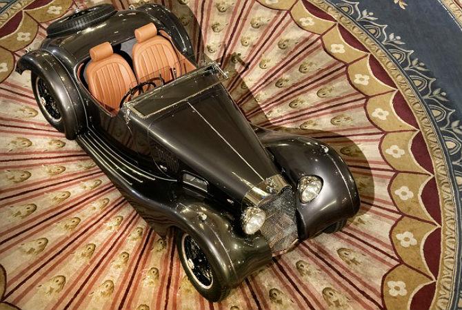 Raro Atalanta de 1937 renasce com tecnologia e segurança de carro moderno