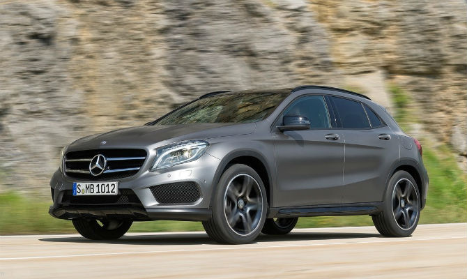 Mercedes-Benz GLA será o primeiro nacional - Mercedes-Benz/Divulgação
