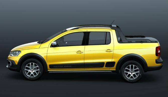 Volkswagen Saveiro Cabine Dupla - Projeção/Ivo Carvalho