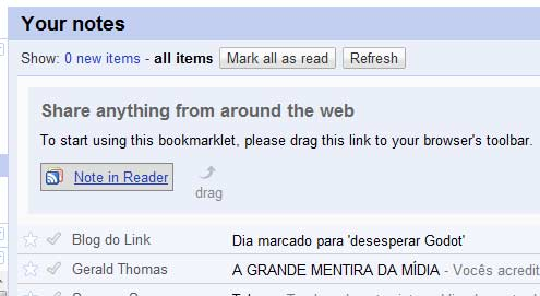 note in reader