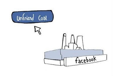 facebook carvão