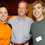 CEOEric Schmidt Sergey Brin and Larry Page Google - Reuters - 630