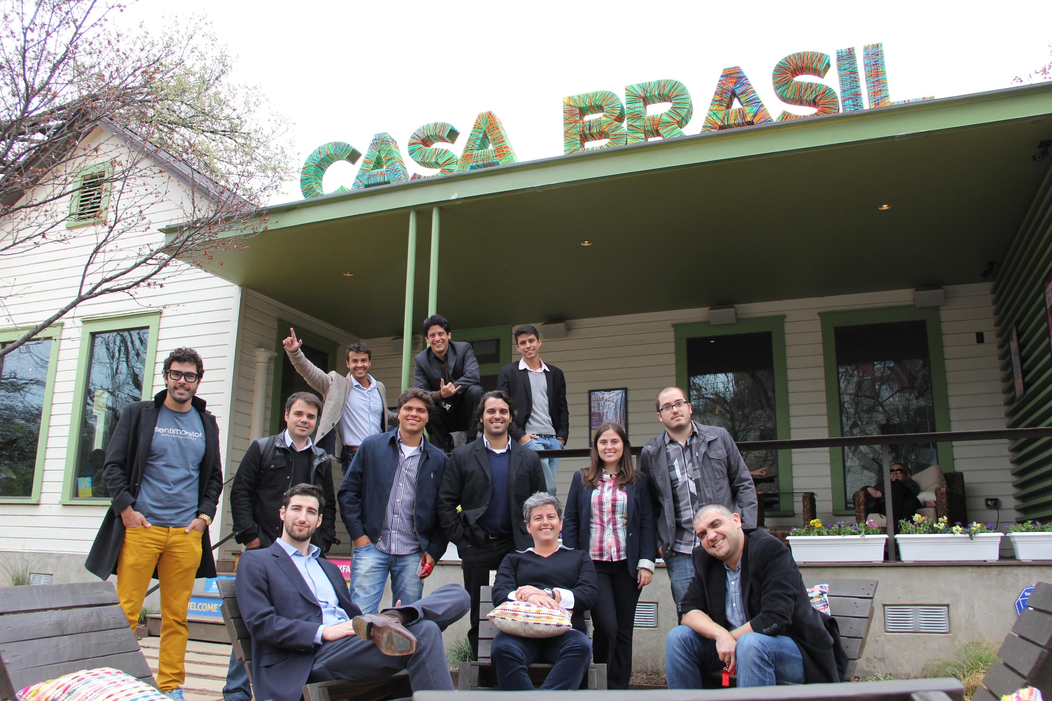 Sentimonitor e Vórtio na Casa Brasil do SXSW 2014