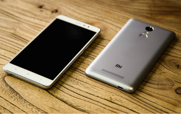 Redmi 3 smartphone