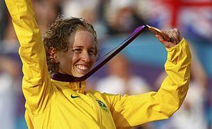 Brasileira é bronze no pentatlo