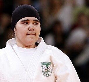 Wojdan Shaherkani foi a 1ª mulher da Arábia Saudita a estrear em Olimpíadas