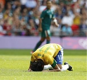 Brasil perde por 2 a 1 e dá adeus à medalha de ouro