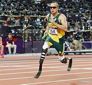 Pistorius fez história nos Jogos Olímpicos de Londres