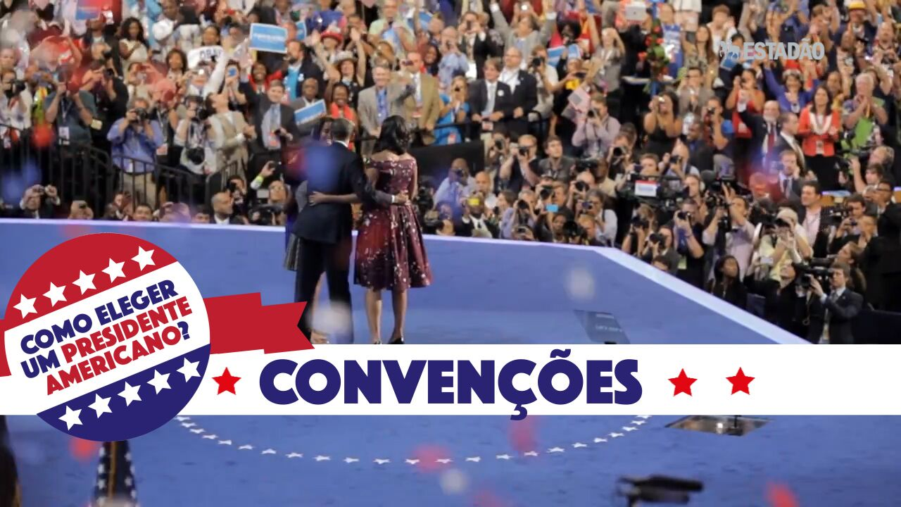 Como funcionam as eleições nos EUA - convenções partidárias