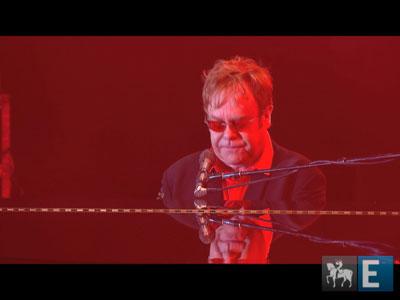 Veja trechos do show de Elton John