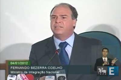 Ministro da Integração diz que não existe disputa partidária no repasse de verba