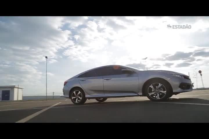 Andamos no Honda Civic 2017