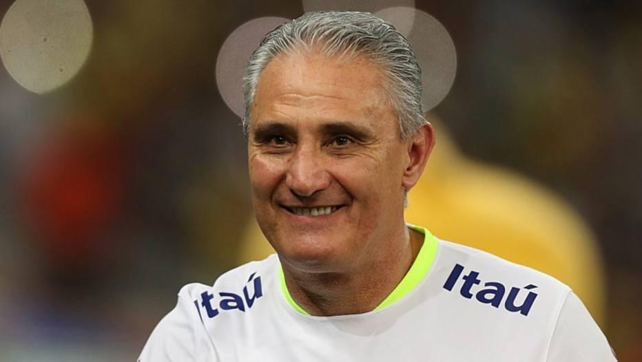 Tite, técnico da seleção brasileira.