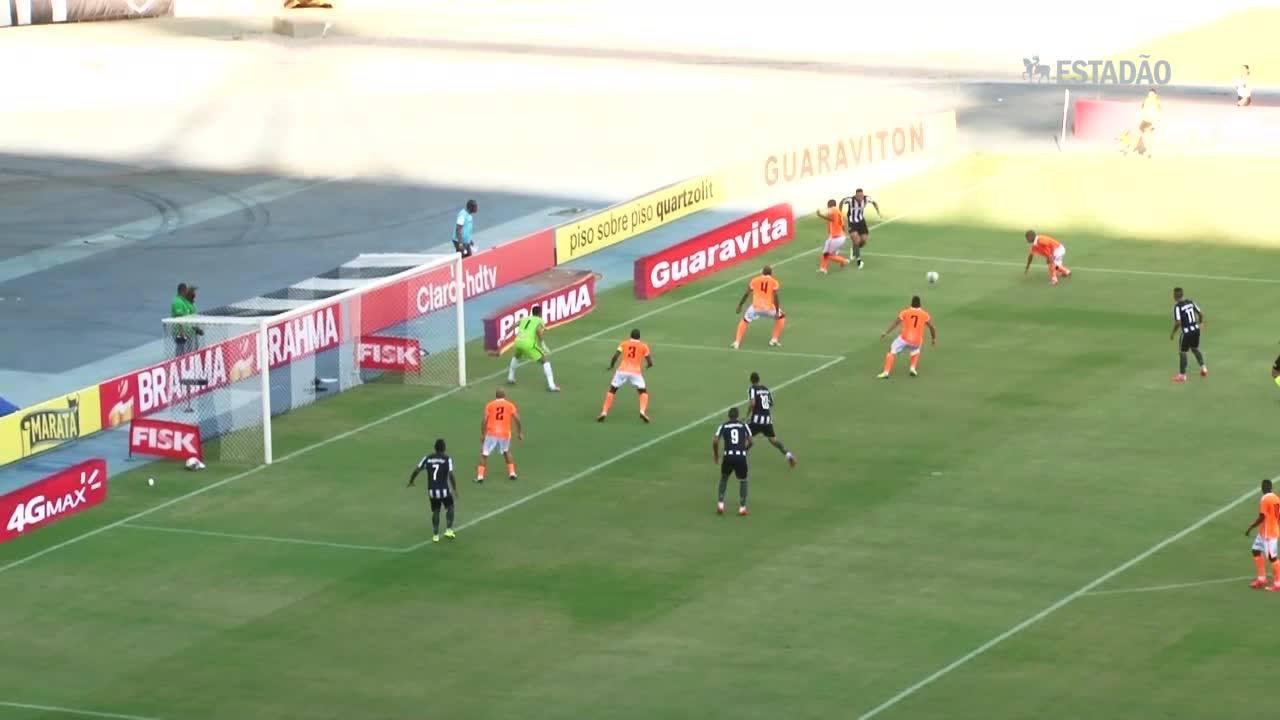 Botafogo vence Nova Iguaçu de virada; veja os gols