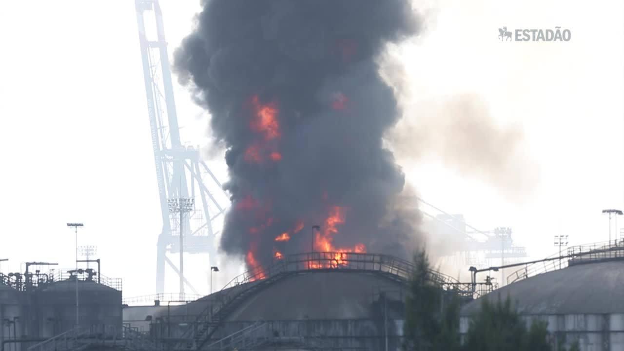 Impactos de incêndio em Santos vão durar cinco anos