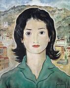 Retrato pintado por Guignard em 1961