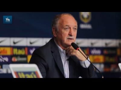 Felipão comenta a desconvocação de Diego Costa