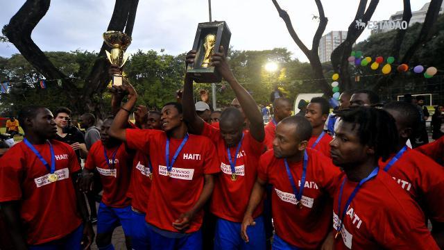 Na Copa dos Refugiados, Haiti leva a melhor